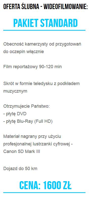 Wideofilmowanie Bolesławiec, kamerzysta Bolesławiec